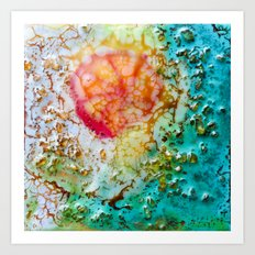 Murano playing Art Print