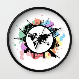 It's travel time Wall Clock