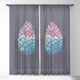 Alpine Sheer Curtain
