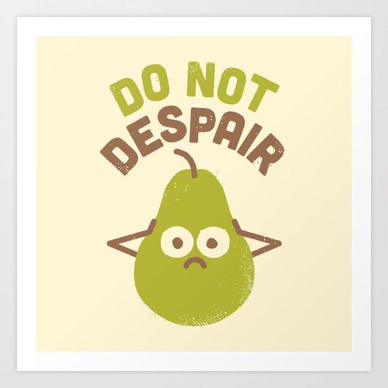A Fruitful Admonition Art Print