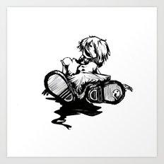 poupée... Art Print