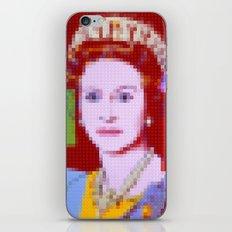 Lego: Queen Elizabeth II iPhone & iPod Skin