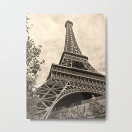 j'adore paris Metal Print