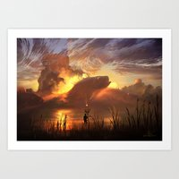 a world ruled by nature Art Print