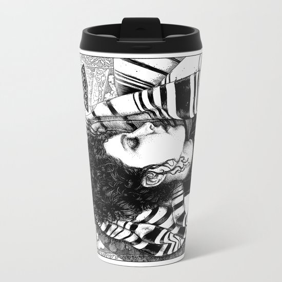asc 726 - Le rêve berbère (Desert fever) Metal Travel Mug