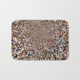 """The Work 3000 Famous and Infamous Faces Collage Bath Mat"
