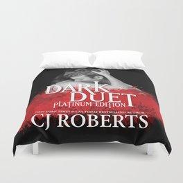 Dark Duet Duvet Cover