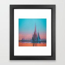 HEVEN / HEL (everyday 08.21.15) Framed Art Print