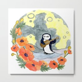 Penguin Serenade Metal Print