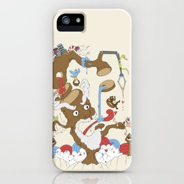 Natures Revenge iPhone Case