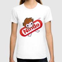 plain T-shirts featuring NINDO-plain by DarkDarren