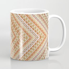 tribal, square meters, geometric pattern Coffee Mug
