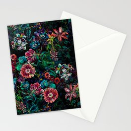 EXOTIC GARDEN - NIGHT IX Stationery Cards