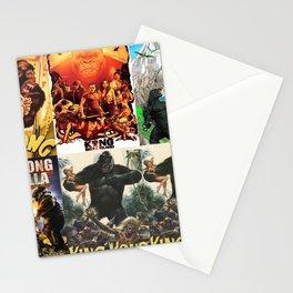 Godzilla vs King Kong, King Kong, poster, Art, Stationery Cards