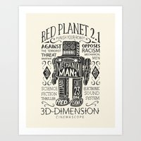 Red Planet Art Print