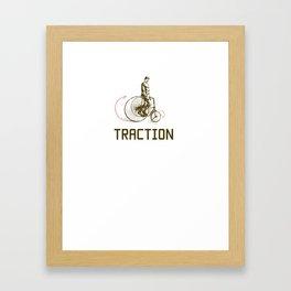 Traction Framed Art Print