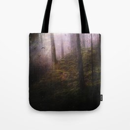 Travelling darkness Tote Bag