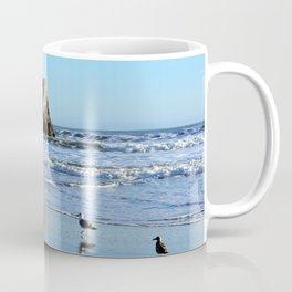 Seagulls at Natural Bridges Coffee Mug