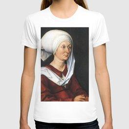 Portrait of Barbara by Albrecht Dürer T-shirt