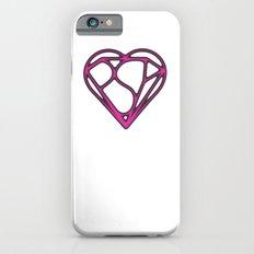 Psy Z Heart, Mind + Shield, Aged Pink iPhone 6s Slim Case