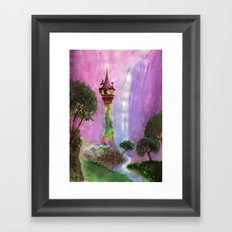 The Mystical Tower Framed Art Print