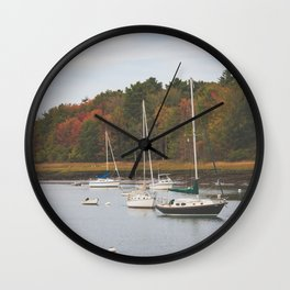 Kennebunkport Maine II Wall Clock