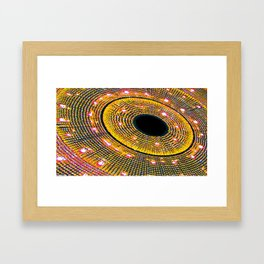 Through The Wormhole part 2 Framed Art Print