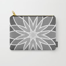 Shades of Grey | Geometric Pattern Carry-All Pouch