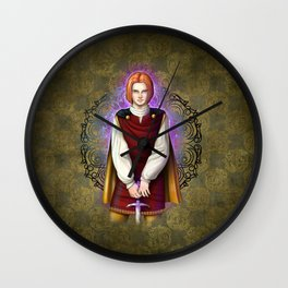 Squire Alan Wall Clock
