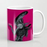 xenomorph Mugs featuring Xenomorph by Sudjino