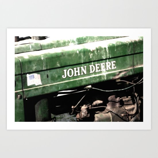 John Deere Art Print