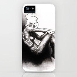 Lucid in Dark iPhone Case