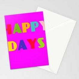Happy Days 2 Stationery Cards