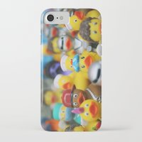 ducks iPhone & iPod Cases featuring Ducks by Galia Rogner