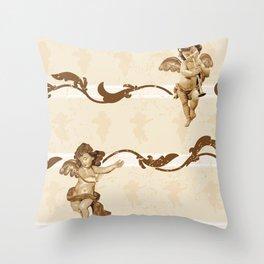 Angelis Throw Pillow
