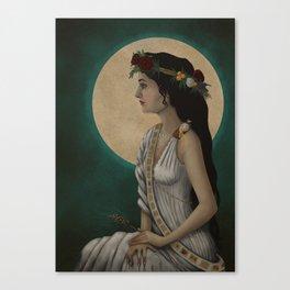 Goddess Demeter Canvas Print