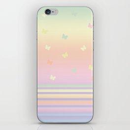 Pattern butterfly 184 iPhone Skin
