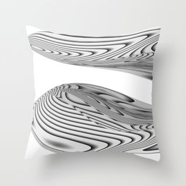 Twin Beans Throw Pillow
