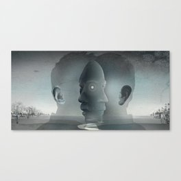 East and West Canvas Print