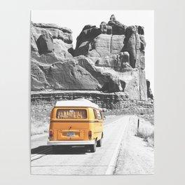Road Trip Combi Poster