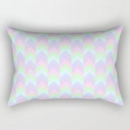 rainbow chevron Rectangular Pillow