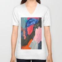 sound V-neck T-shirts featuring Sound by Lauren Packard