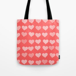 Cute Hearts Tote Bag