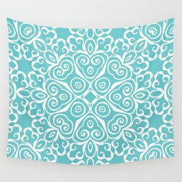 Winter's Spring Dance Print Wall Tapestry