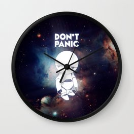 Don't Panic Marvin Wall Clock