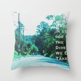 What Will Become of Us Throw Pillow
