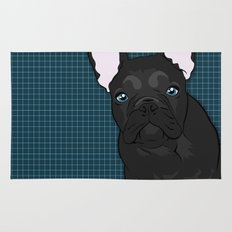 Black Frenchie Rug