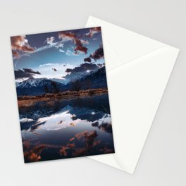 Sierra Nevada Mountains Stationery Cards