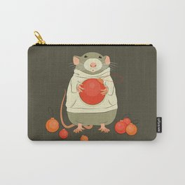 Mouse with a Christmas ball II Carry-All Pouch