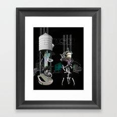 'RUSH'ONE Framed Art Print